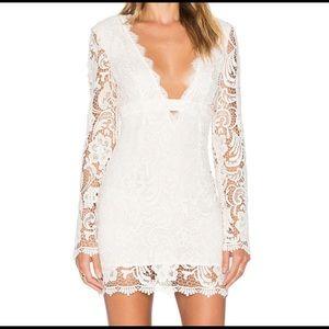 NWT Ivory Jetset Diaries Lace Pisa Bodycon dress